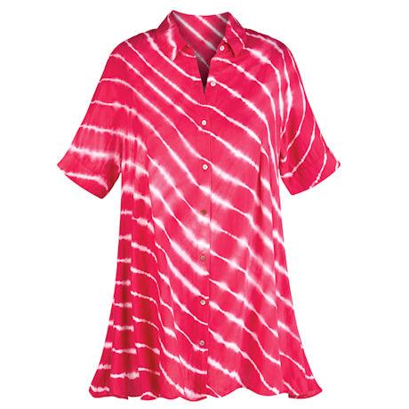 Candy Stripe Tunic Top