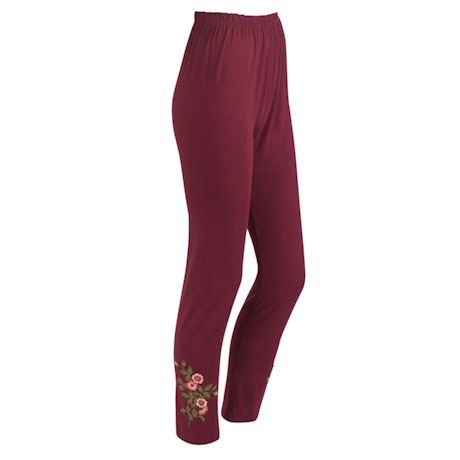 Embroidered Tapestry Legging