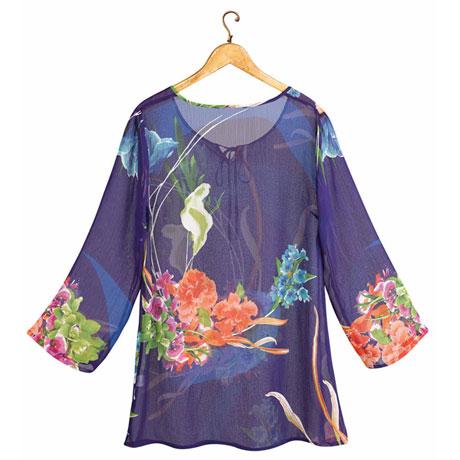 Flower Fest Tunic Top