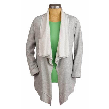 Heather Grey Fleece Jacket