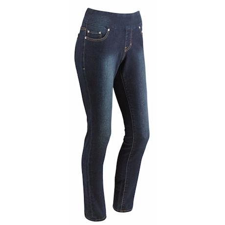 Knit Denim Skinny Jean