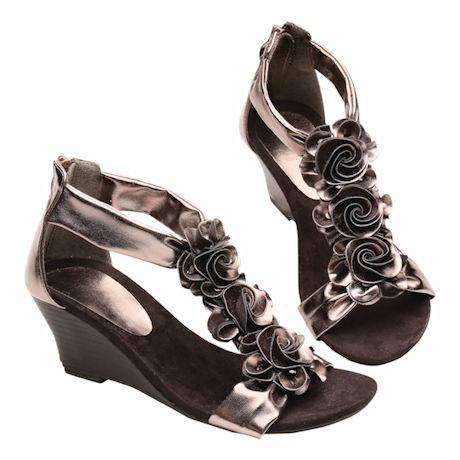 Harlequin Evening Sandal