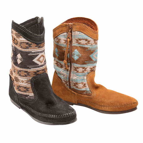Baja Pattern Low Boot