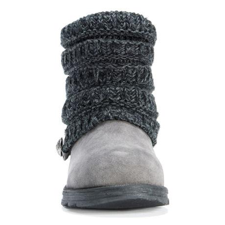 Soft Knit Cuff Bootie