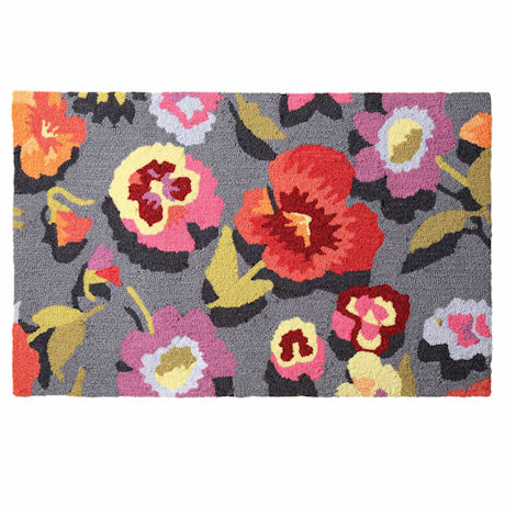 Wild Flowers Accent Rug