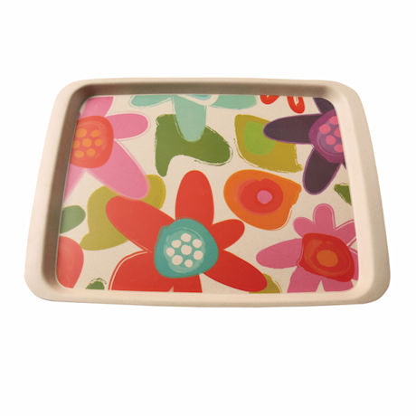 Bamboo Fiber Floral Trays - Medium