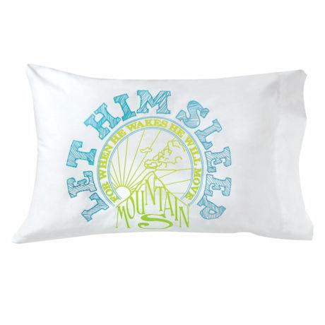 Glow-In-The-Dark Let 'Em Sleep Pillowcase
