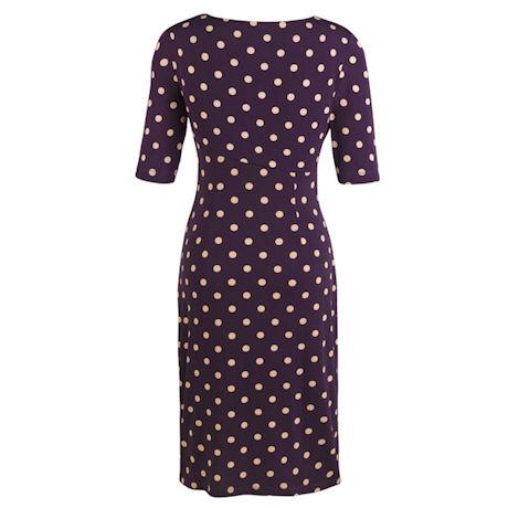 Polka Dot Sarong Dress
