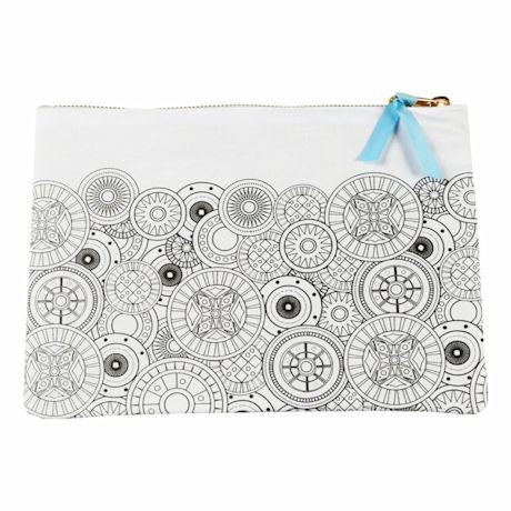 Color Your Own Pouch - Circles