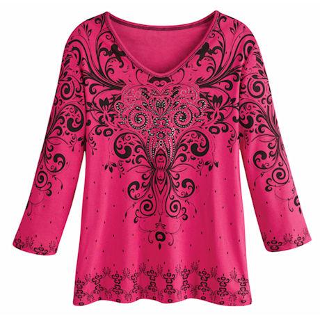 Isabella Hot Pink Top