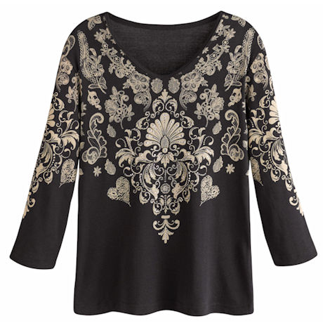 Lacey Floral Top