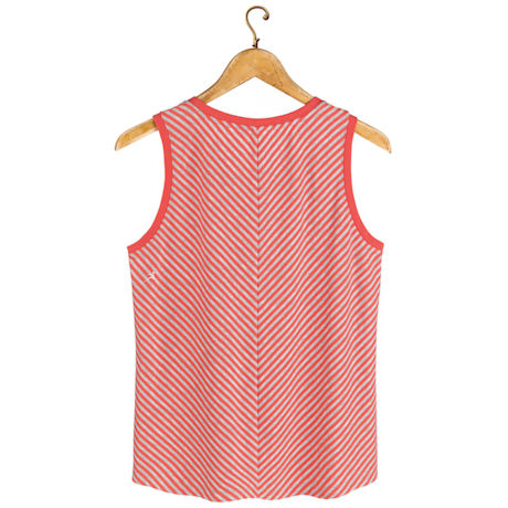 Bias-Stitch Tank Top