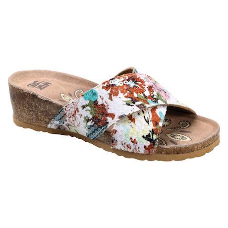 Helene Crisscross Sandal