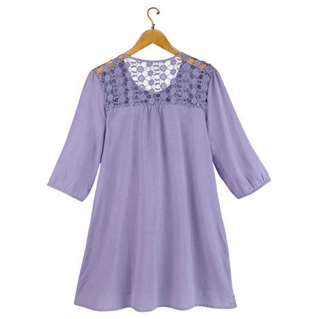 Sweet Lilacs Tunic Top