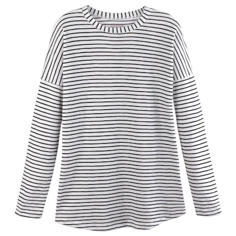 Perfect Vacay Stripe Knit Jersey - Take Me