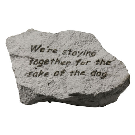 Staying Together Reminder Stone