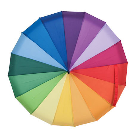 Color Spectrum Pagoda Umbrella