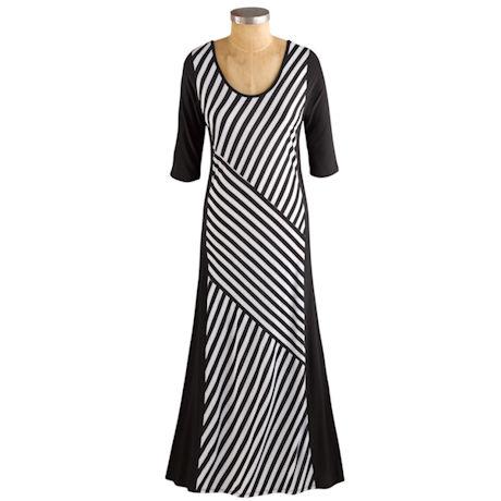 Perfectly Angled Maxi Dress