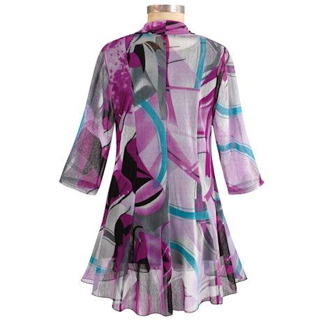 Purple Haze Jacket With ¾ Sleeve T-shirt
