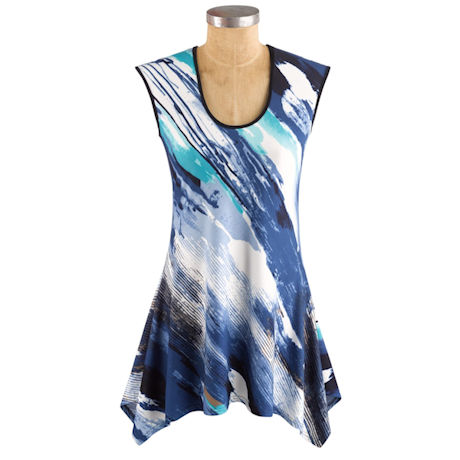Waves Of Color Tunic