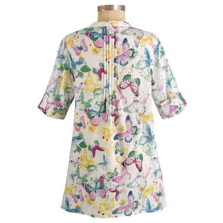 Butterfly Fun Cotton Tunic