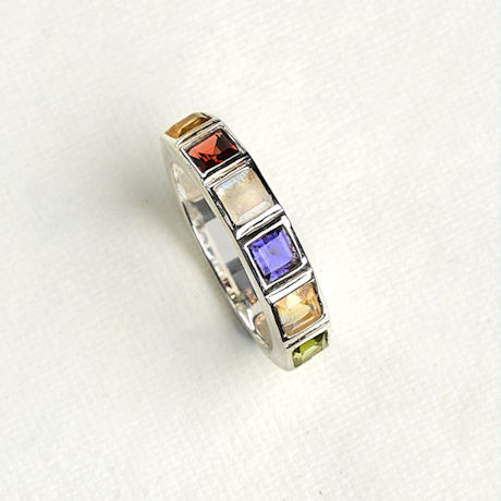 Choice Sterling 'N Gemstones Ring