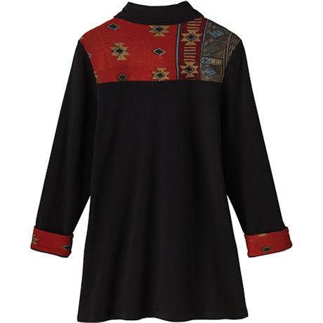 Novelty Buttons Knit Jacket