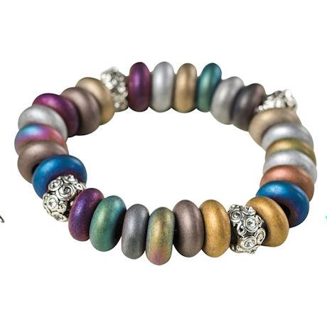 Electroplated Hematite Bracelet