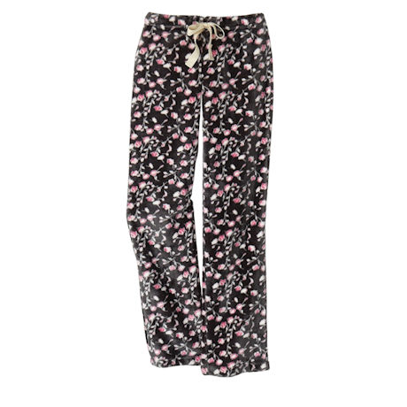Sweetheart Rosebuds Fleece Lounge Pants