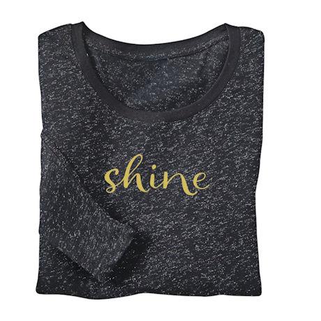 Shine Sparkling Ladies' Longsleeve Tee