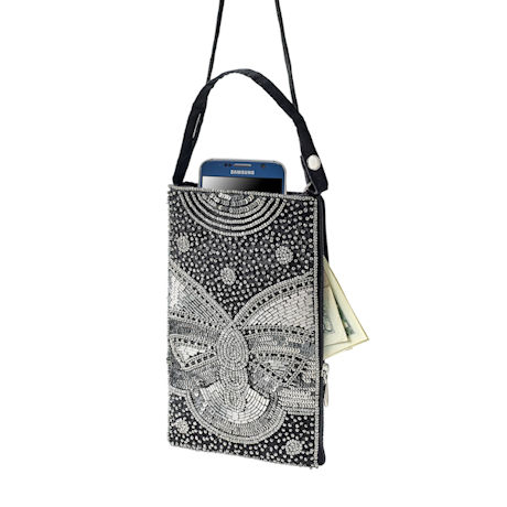 Gatsby Beaded Crossbody Bag