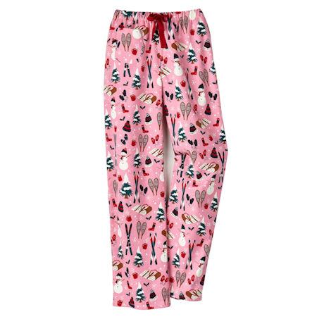 'Tis The Season Flannel Lounge Pants - Snow Good
