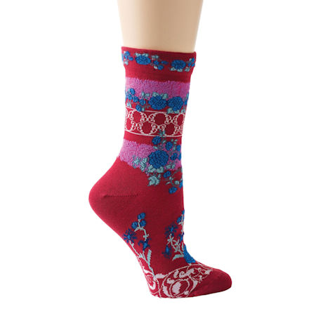 Festive Medallions Socks