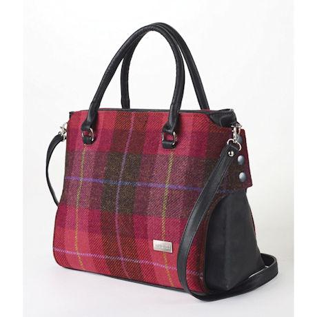 Scarlet Plaid Handbag