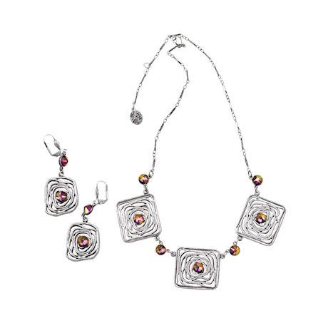 Swarovski® Maze Earrings