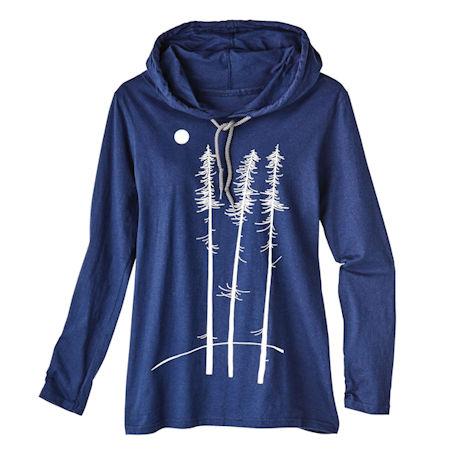 Twilight Trees Trio Hooded T-Shirt