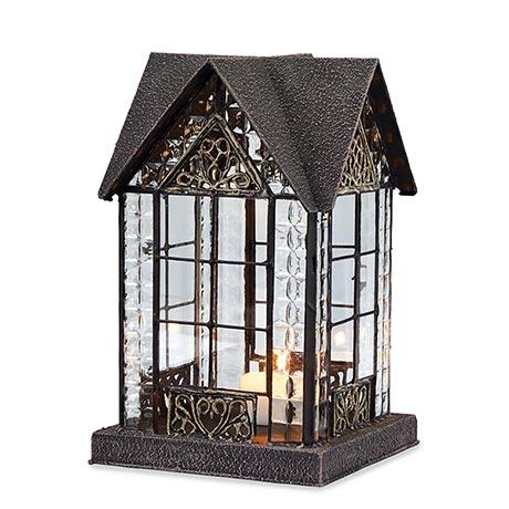 Candle Lantern Architectural Design in Metal Frame - Devonshire