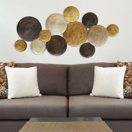 Multi Circles Wall Sculpture