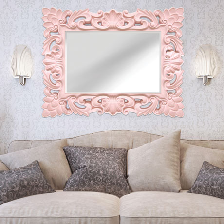 Elegant Ornate Wall Mirror