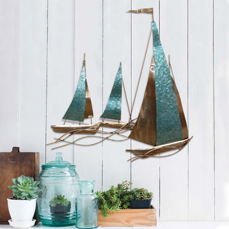 Sailboat Wall Décor
