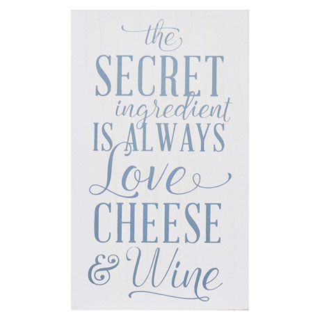 Love Cheese Wine Wall Art