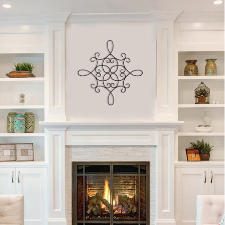 Traditional Scroll Medallion Wall Décor