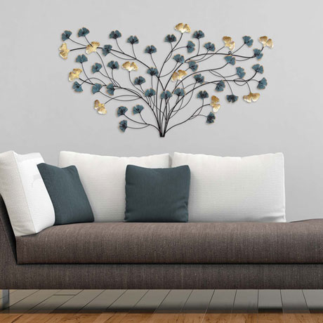 Blooming Flowers Wall Décor