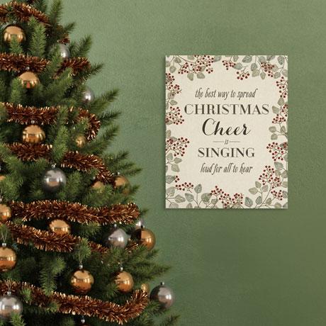 Christmas Cheer Wall Art