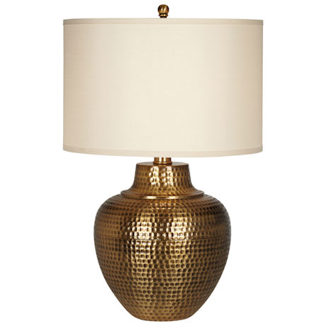 Hammered Antique Table Lamp