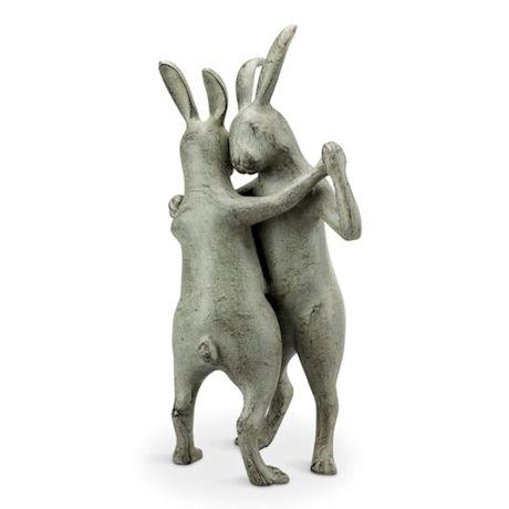 First Dance - Dancing Rabbits Garden Art
