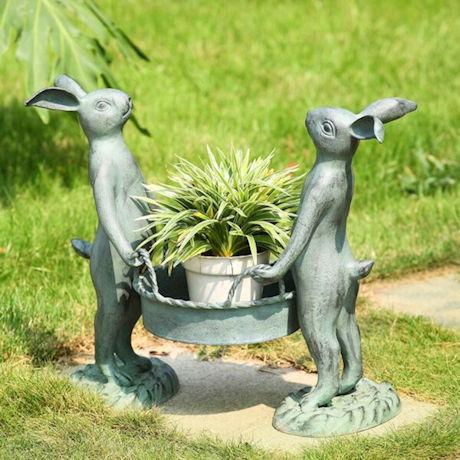 Bunny Gardeners Pot Holder