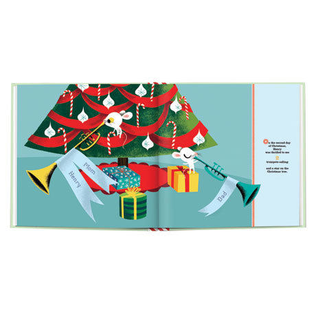"""Personalized """"My 12 Days of Christmas"""" Story Book"""
