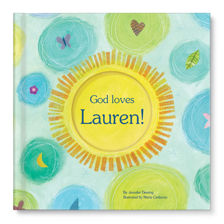 Personalized God Loves You! Children's Book