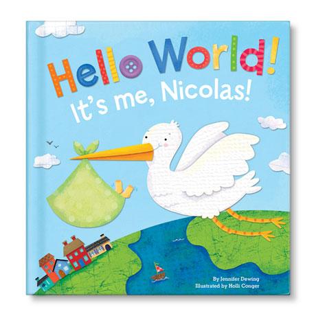 Personalized Hello, World! Board Book - Boy